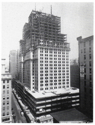 Construction of the Empire State, 1929-1931