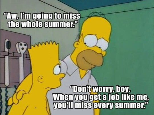 To Everyone Talking About Their Great Summers