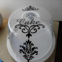 Personalized cake carrier. & 294 best Cricut ~ Personalized Cake Carrier Ideas images on ...