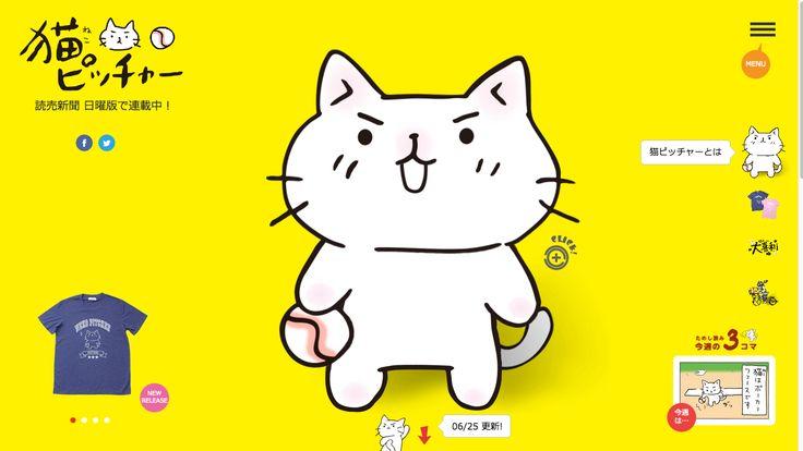 猫ピッチャーとは?|猫ピッチャー公式サイト