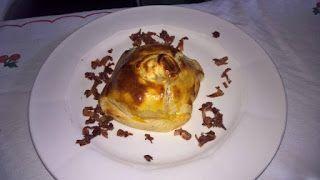 Camper Chef Road: Tomino in crosta su vellutata di Cavolfiore
