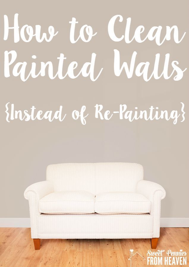 How to Clean Painted Walls So You Can Skip Re-Painting! #15MinReno #ConnectMrClean #spon