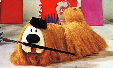 Dougal from The Magic Roundabout