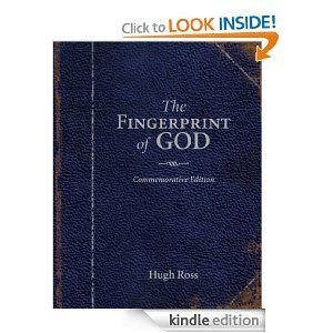 The Fingerprint of God: Recent Scientific Discoveries Reveal the Unmistakable Identity of the Creat by Hugh Ross. $10.60. 209 pages. Publisher: Reasons To Believe; 1 edition (July 1, 1989)