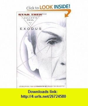 9 best electronic books images on pinterest electronic books exodus vulcans soul trilogy book 1 star trek 9780743463560 josepha sherman fandeluxe Gallery