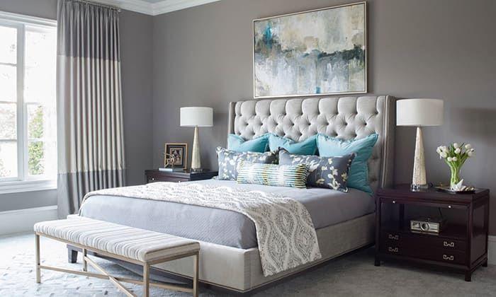 30 Ideas Para Pintar Y Decorar Una Habitación Gris Tu Habitación Perfecta Habitaciones Grises Habitacion Decoraciones De Dormitorio