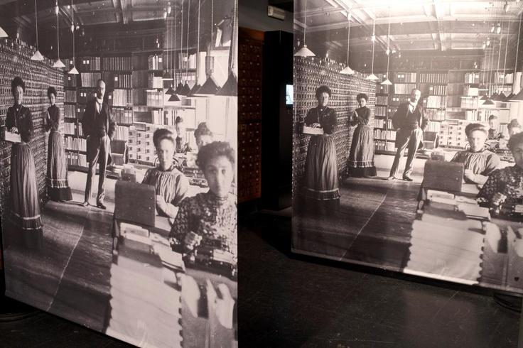 Reconstitution: le Mundaneum en 1910 (Bruxelles)