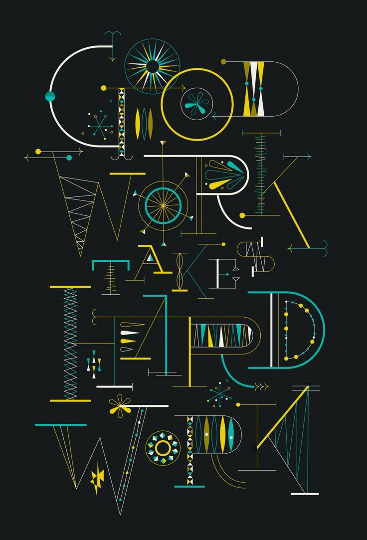 brent couchman on friends of type: Work Hard, Friends, Quote, Brent Couchman, Graphics Design, Hard Work, Typography, Posters, Brentcouchman