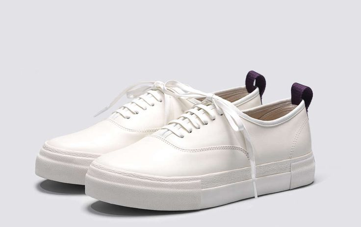 #Eytys Mother Leather White.