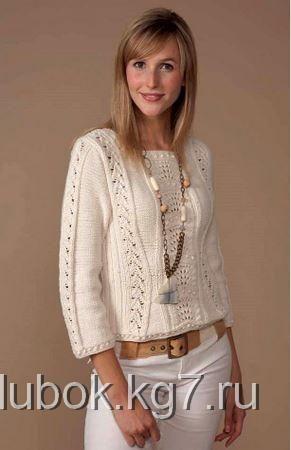Приталенный пуловер Shaped Pullover от Natalie Wilson! | Клубок