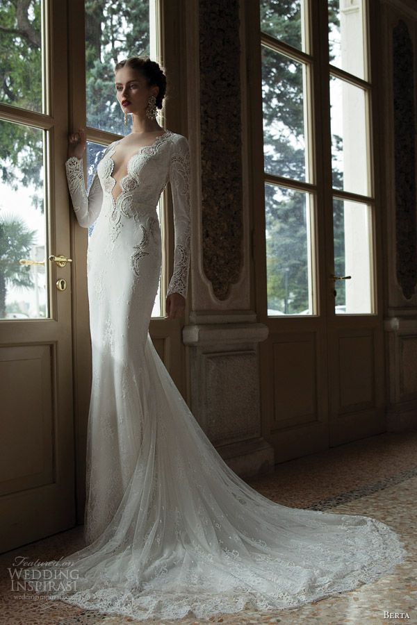 Berta Bridal Winter 2014 — Long Sleeve Wedding Dresses | Wedding Inspirasi