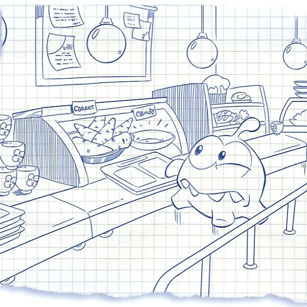 Finally! Om Nom's favorite part of the school day has arrived… LUNCH! He thinks that school cafeterias should serve more candy and fewer carrots! Do you agree? Cut the Rope: Time Travel