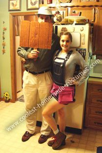 coolest homemade mr wilson and heidi couple costume - Ebaycom Halloween Costumes