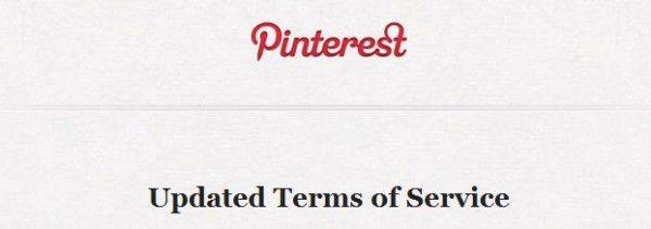 Política de privacidad de Pinterest