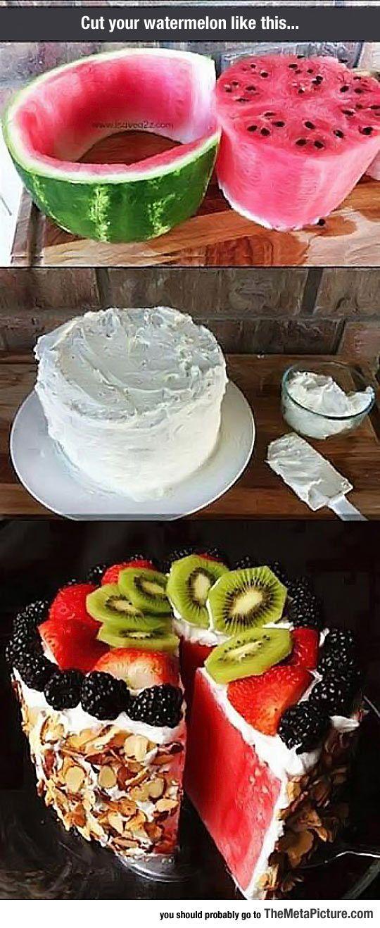 Delicious Watermelon Cake