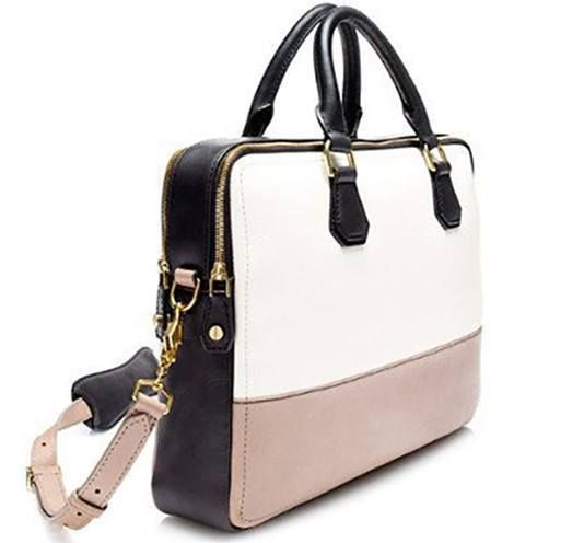 7 Leather Office Bags Every Working Woman Should Own Laptop Pinterest Purses And Briefcase