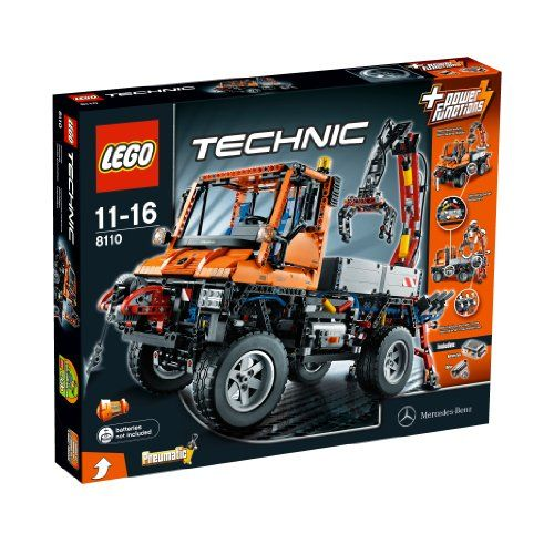 LEGO Technic Unimog U400 (8110) LEGO   A gift from Santa! (Given the reluctant hand-off from Santa, it would seem he gives gifts he'd like to receive.) #letgo #collectible #unimog