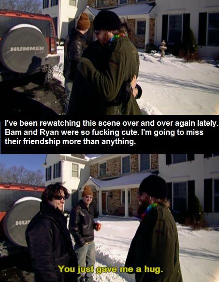 Ryan Dunn and Bam Margera  Funniest bromance ever