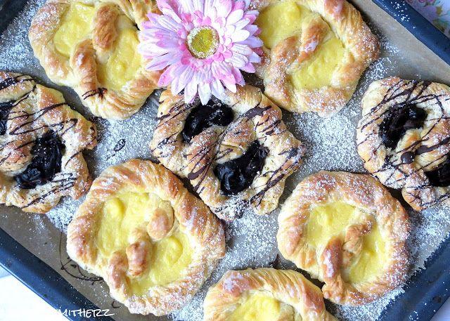 Rezepte mit Herz   ♥: Puddingbrezel Vanille & Schokolade