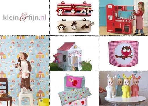 Attentie mama's opgelet! Voor de liefste, leukste en mooiste items voor baby's en kinderen moet je bij Klein & Fijn zijn.
