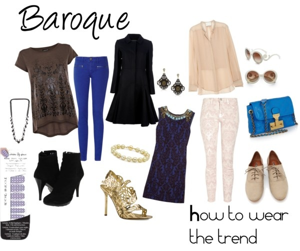 """How to wear the trend - Baroque"" by sarahghag on Polyvore"