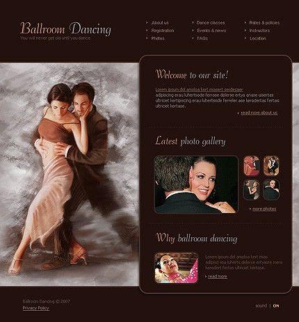Ballroom Dancing Flash Templates by Delta