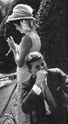 Georgetown. John and Jackie Kennedy
