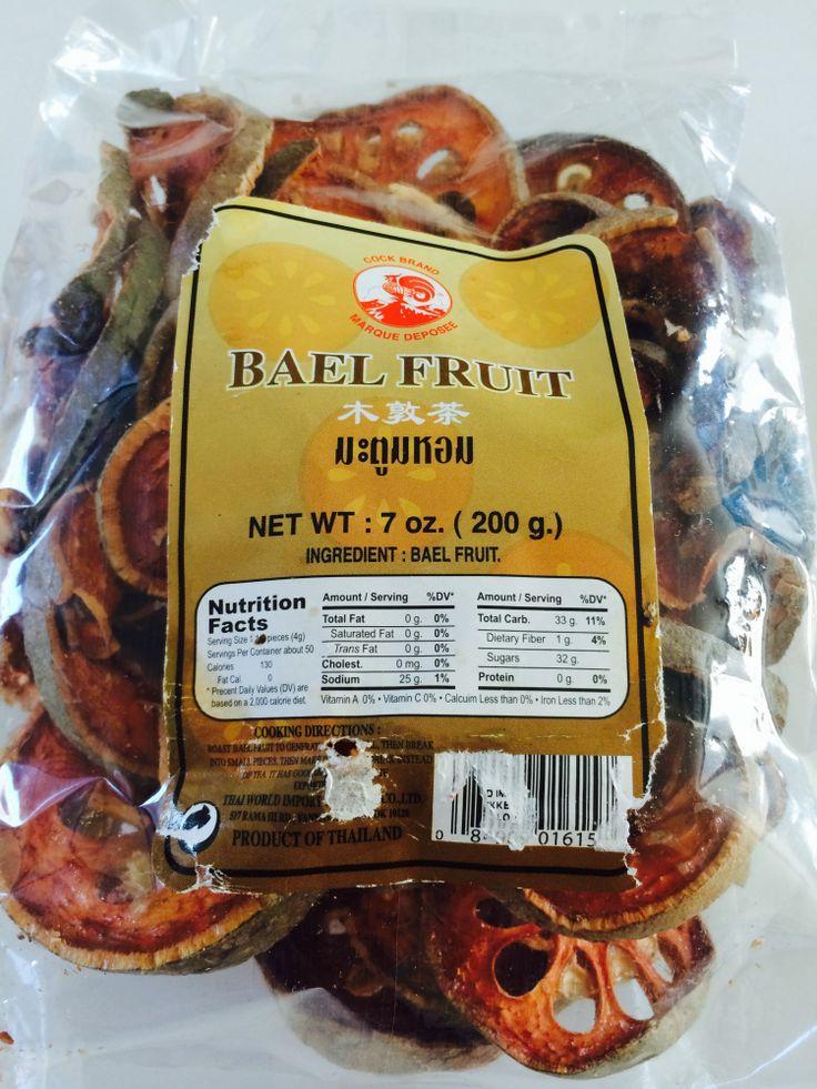 Bael fruit tea recipe cha matoom บามะตม pranees