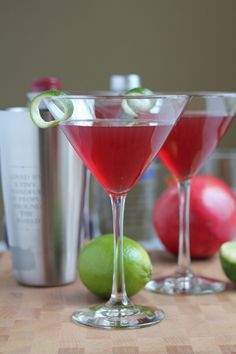 Ring in the New Year with this delicious, easy-to-follow Pomegranate Cosmopolitan recipe. This might become your favorite cocktail.
