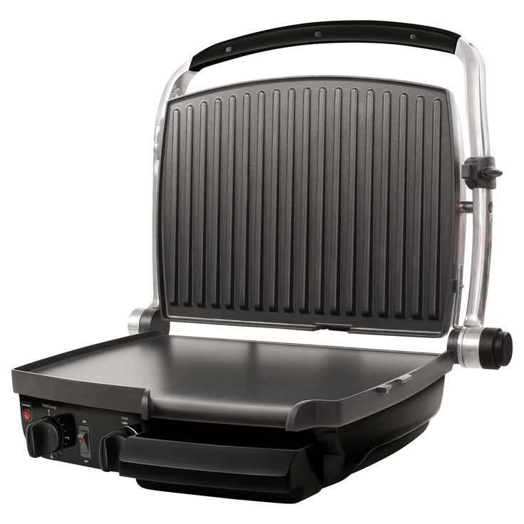 Multi-purpose Contact Grill SBG 400 - Non-stick grill plates - Option to grill without needing to add oil - Removable oil drip tray