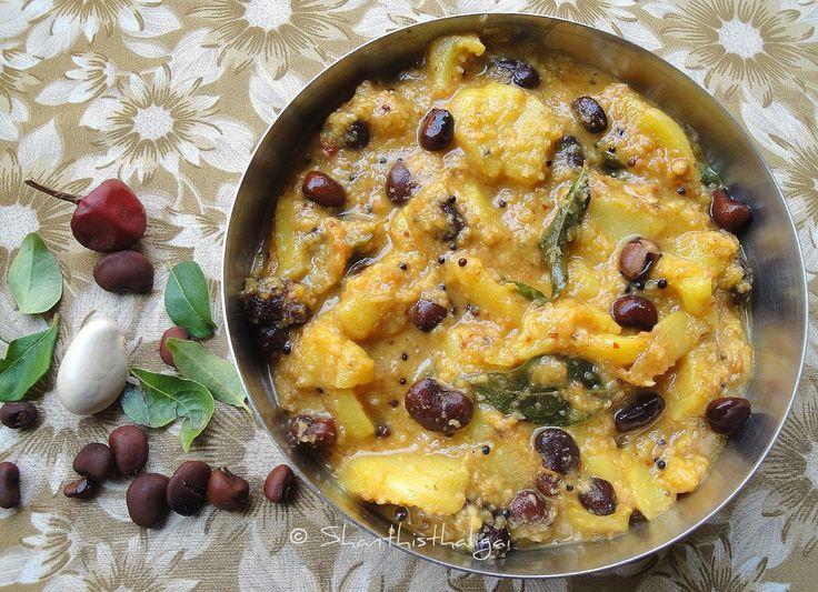 Chakka curry recipe, Jackfruit curry recipe, Onam sadhya recipe