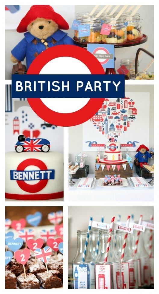 British Birthday Bash {Boy Party Ideas} - Spaceships and Laser Beams