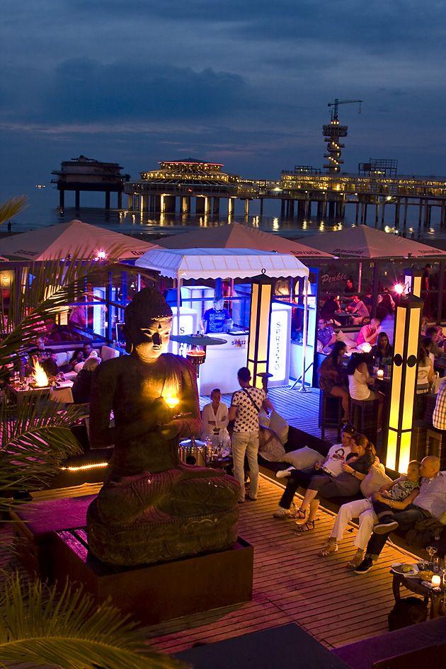 Scheveningen by Night, Peukie Beach Club, Scheveningen, Netherlands