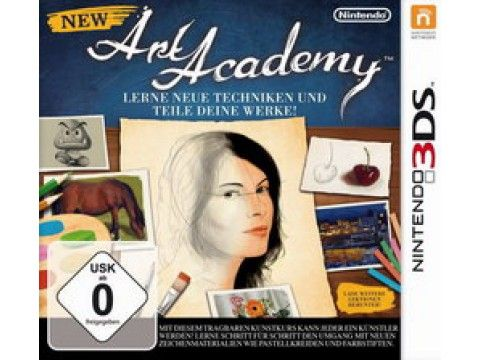 New Art Academy  3DS in Fun