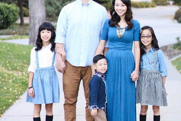 Женщина превращает некрасивую одежду в стильные наряды для себя и своих детей — В Курсе Жизни