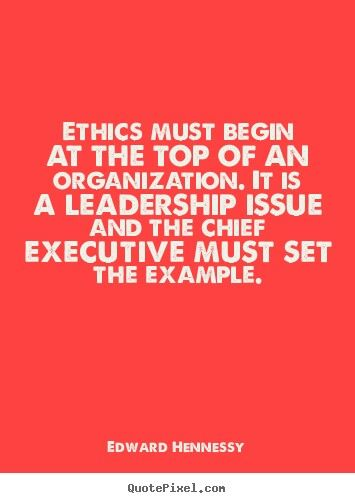 leadership management and ethics Leadership and management in engineering / volume 10 issue 1  ethics in professional engineering: leadership through integrity show less show all.