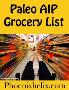 Paleo AIP Grocery List | Phoenix Helix
