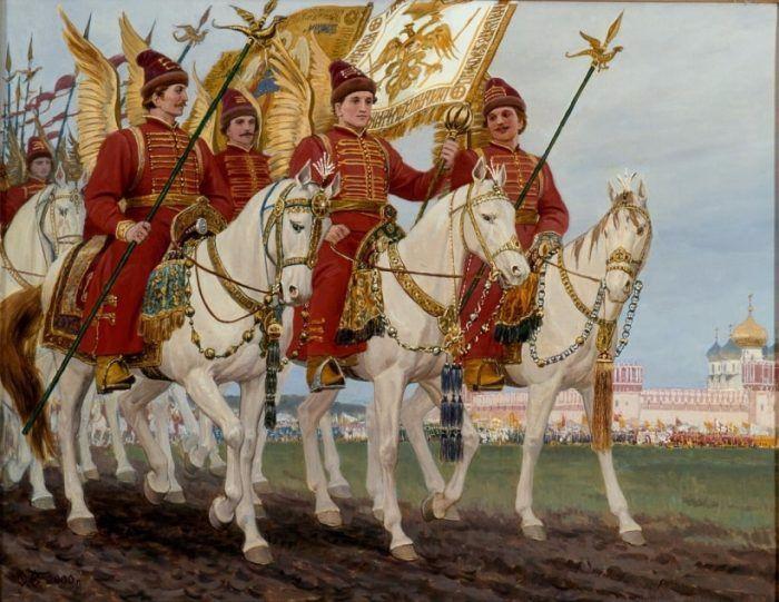 С. Ерошкин.  Государево войско.