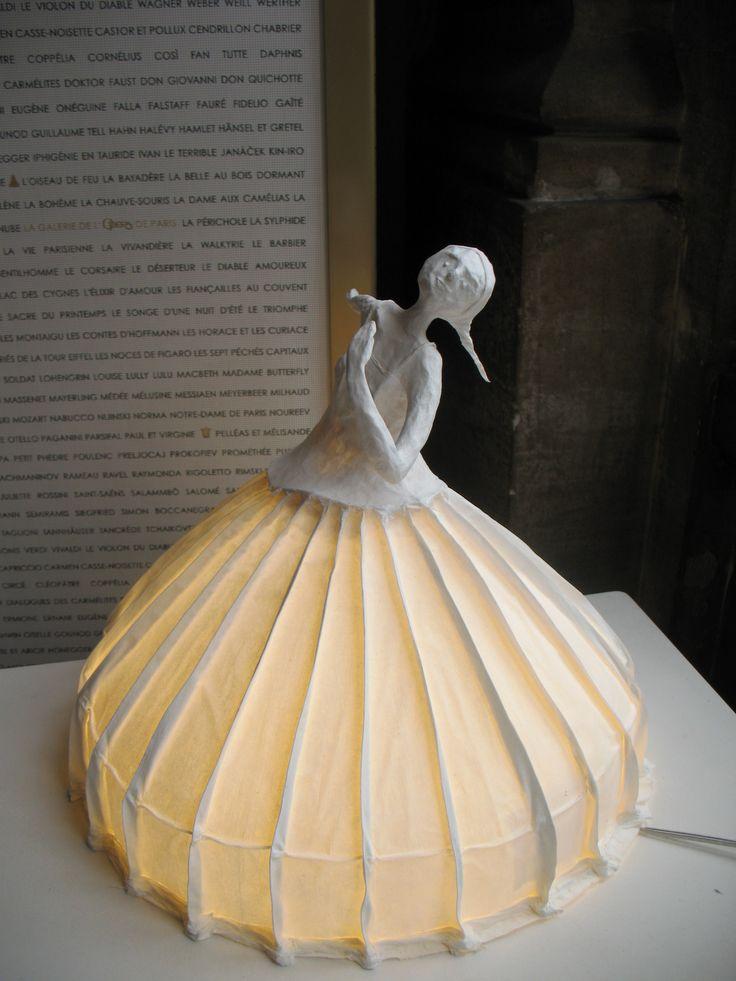 sculptures_lumineuses - Le Sacre du Printemps Pina Bausch - Papier à Etres