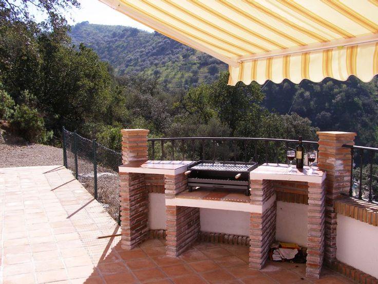9 best barbeque built in designs images on pinterest for Outside barbecue area design