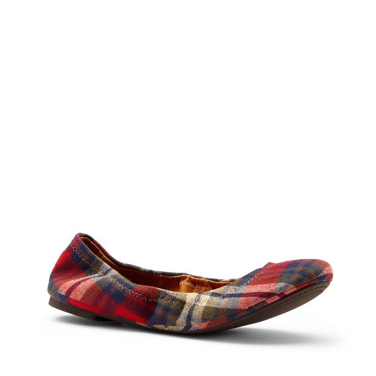 I want plaid flats!