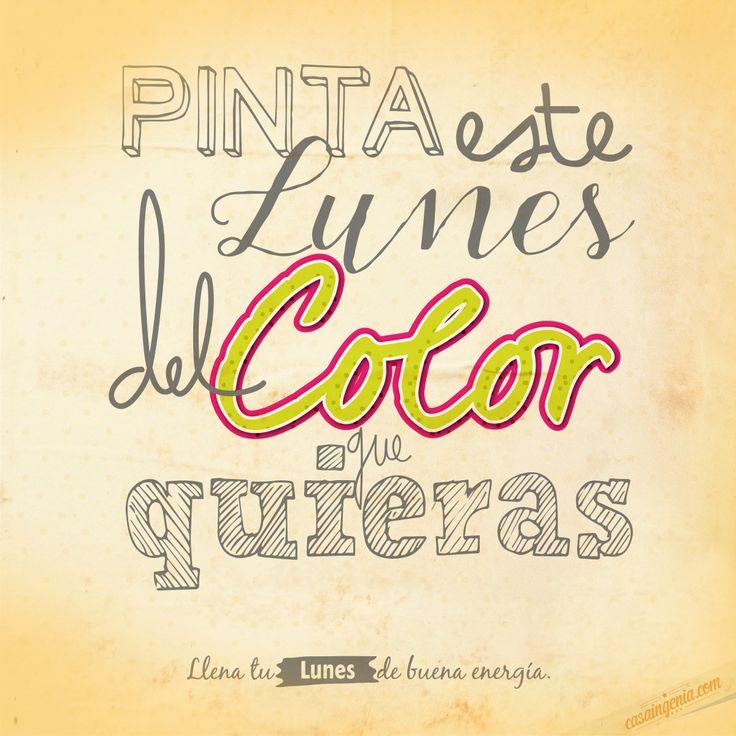 Las cosas pintan de acuerdo al punto de vista que las quieras ver! #Lunesdebuenaenergía!