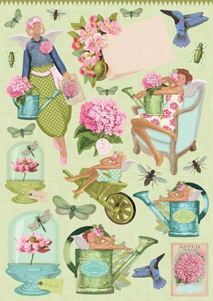 Tilda Gardenparty Cut-out Sheets
