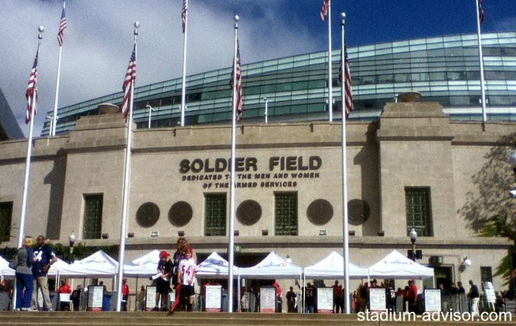 Soldier Field - Chicago's Stadium in the Park. http://www.stadium-advisor.com/chicago-bears-schedule.html