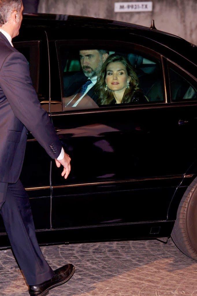 MYROYALS & HOLLYWOOD FASHİON - Prince Felipe and Princess Letizia attended 'La Razon' Newspaper 15th Anniversary in Madrid.