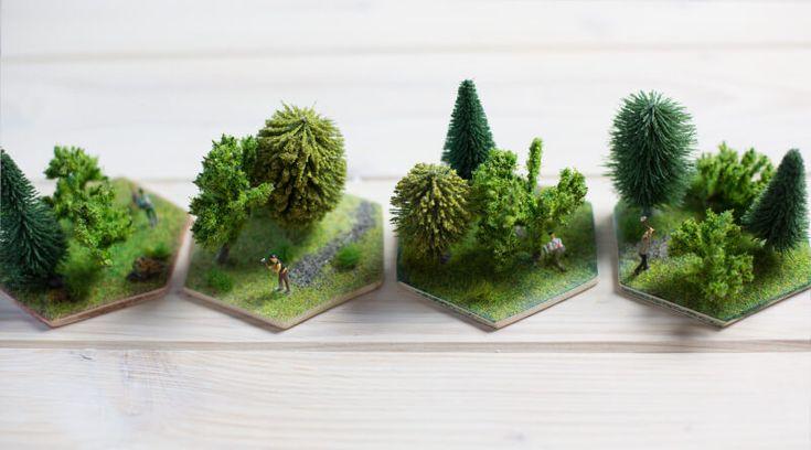 Die Siedler von Catan in 3D, Holz Feld