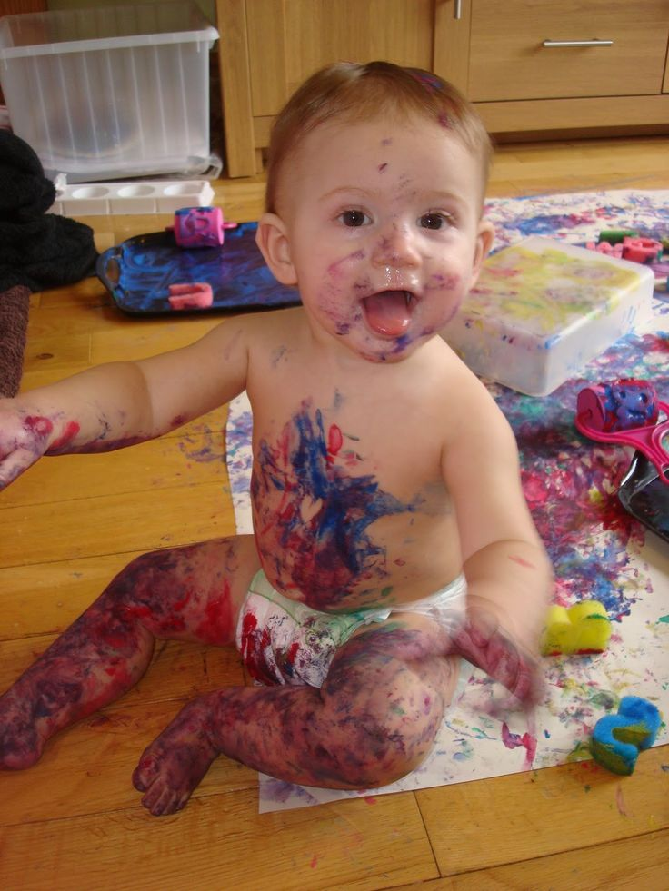 Totally Toddlers: Painting