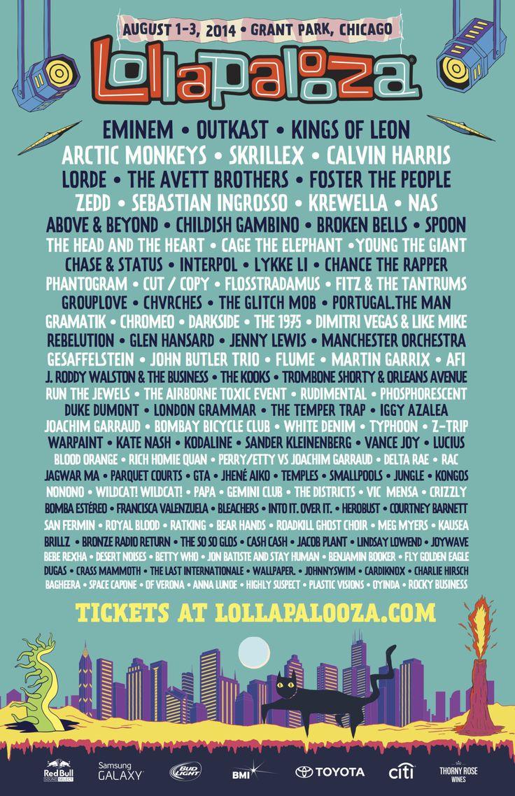 Lollapalooza 2014: Top 40 Moments + Photos
