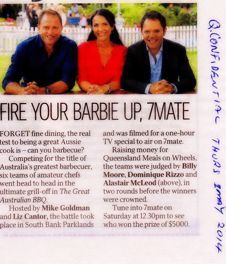 Great Aussie BBQ, TV special on 7mate with @greataussie_bbq
