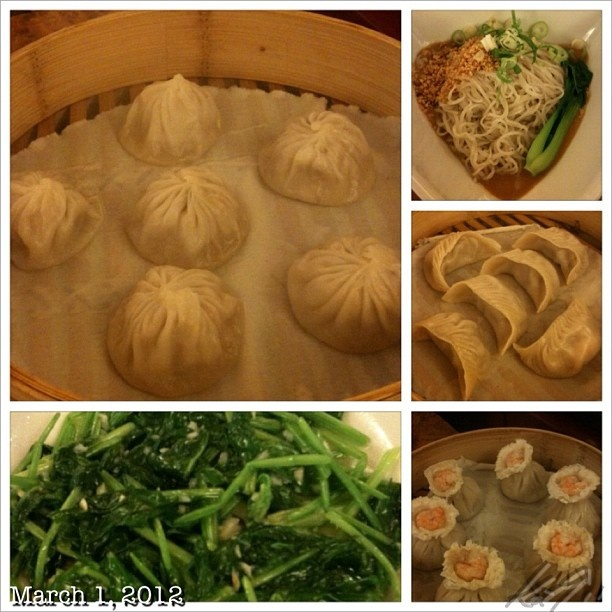 dim sum and vegetables
